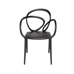Chaise avec coussin intégré